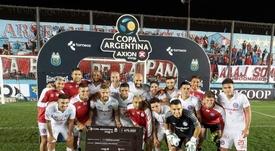 Argentinos pasó ronda en la Copa Argentina. AAAJ