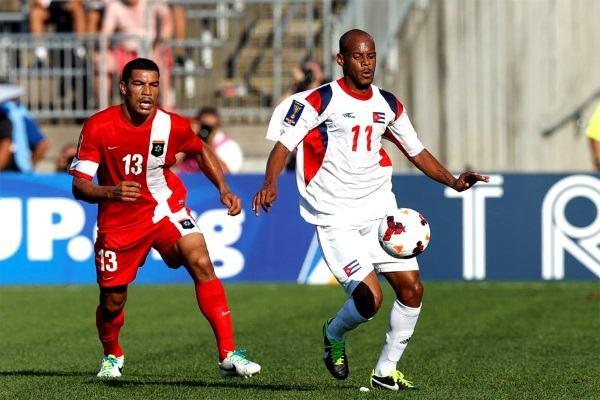 Nesta alabó al jugador cubano. AFP