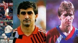 Andrei Piatnitsky y Ahrik Tsveiba jogadores que jogaram em até quatro Seleções diferentes.