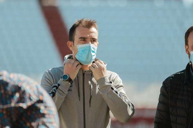 López Garai dejó claro que, quien no juegue, será porque ha de descansar. Twitter/AlbaceteBPSAD