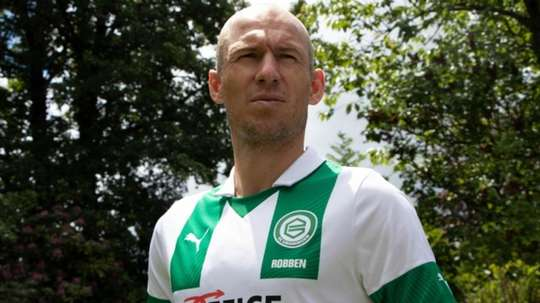 Robben may never return. Twitter/FCGroningen