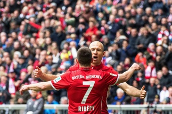 Kahn dément un retour de Franck Ribéry au Bayern Munich. EFE