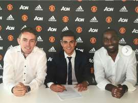 Armai Pigmal joined Man United from Spanish side Espanyol. United