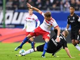 Arp está en la órbita del Bayern de Múnich. AFP