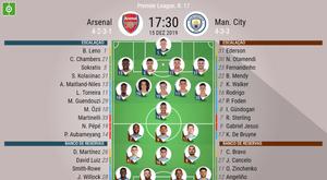Arsenal e Manchester City se enfrentam hoje pela 17ª rodada da Premier League. BeSoccer