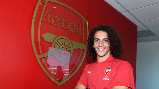Arsenal have confirmed the signing of Matteo Guendouzi. ArsenalFC