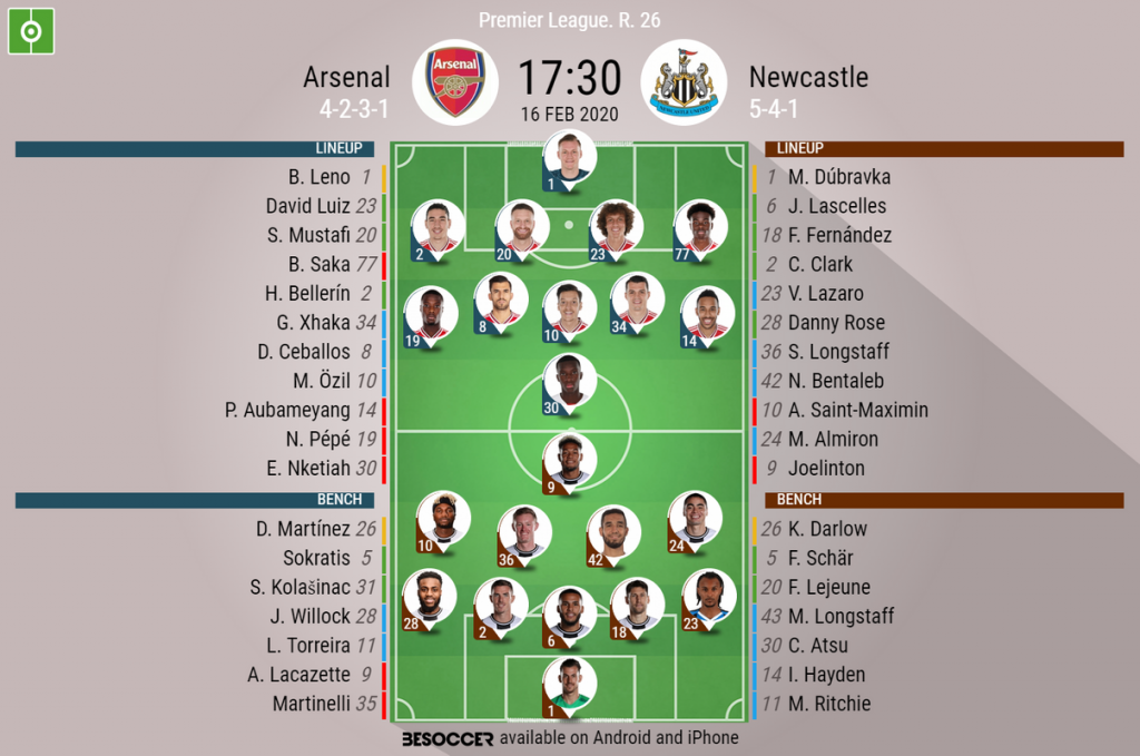 Arsenal V Newcastle As It Happened Besoccer