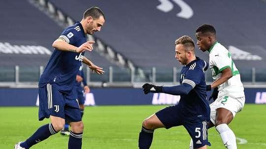 La Juve batte il Bologna. EFE