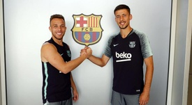 Lenglet y Arthur ya están a las órdenes de Valverde. FCBarcelona