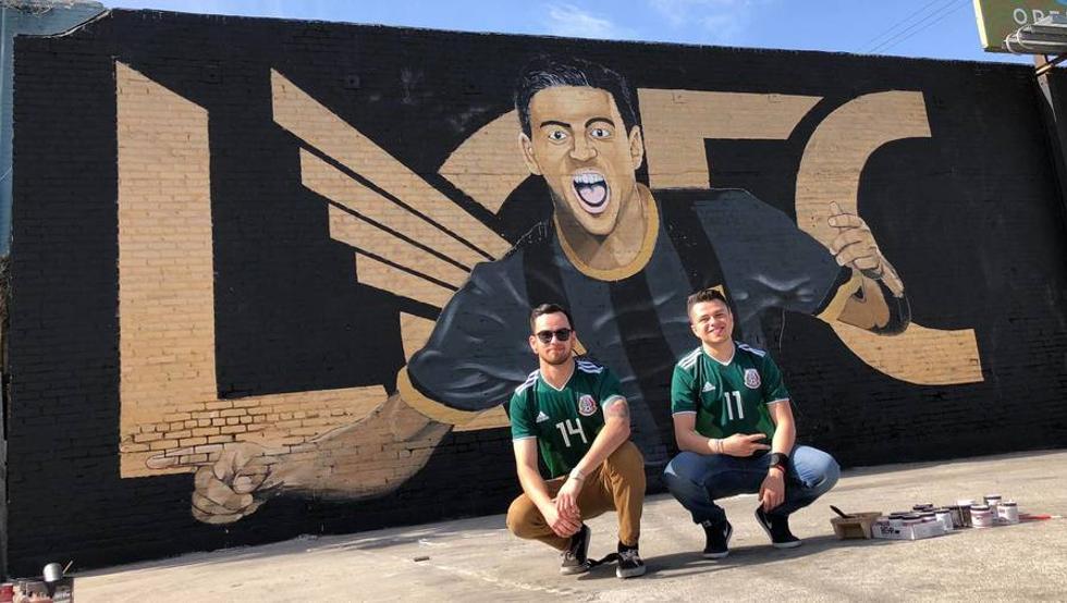 Mural de Carlos Vela en Los Ángeles fue vandalizado