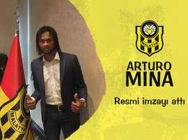 El ex de River ya pertenece a las filas del conjunto turco. YeniMalatyaspor