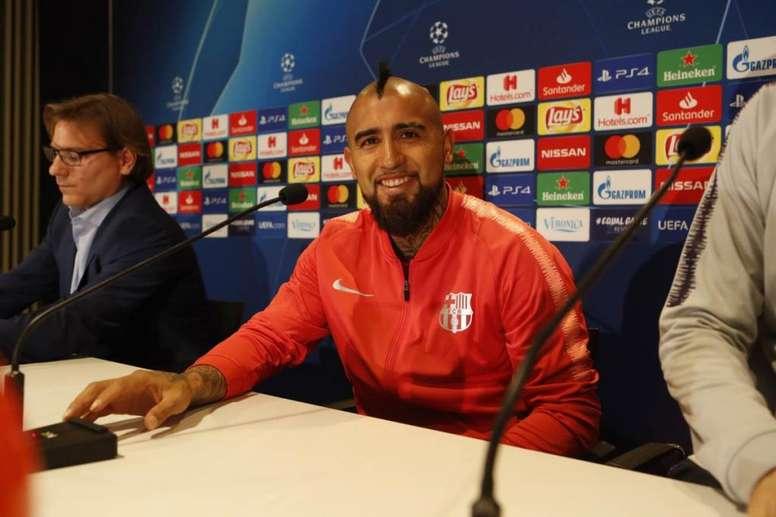 Vidal pourrait manquer Mexique-Chili. FCBarcelona