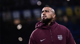 Arturo Vidal ha ganado peso con el paso de las jornadas. AFP