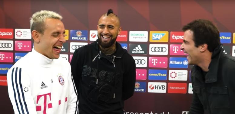 Arturo Vidal le mandó un 'dardo' a Messi. Youtube