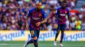 40 milhões de euros para tirar Arturo Vidal do Barça. EFE