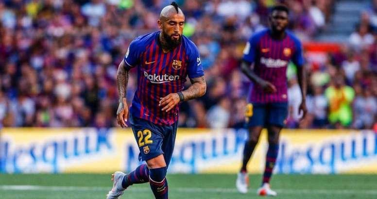 Le Barça veut 40 millions d'euros pour Vidal. EFE