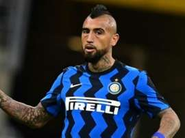 Vidal made a great debut. AFP