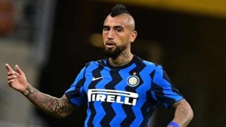 Vidal made a great debut. AFP