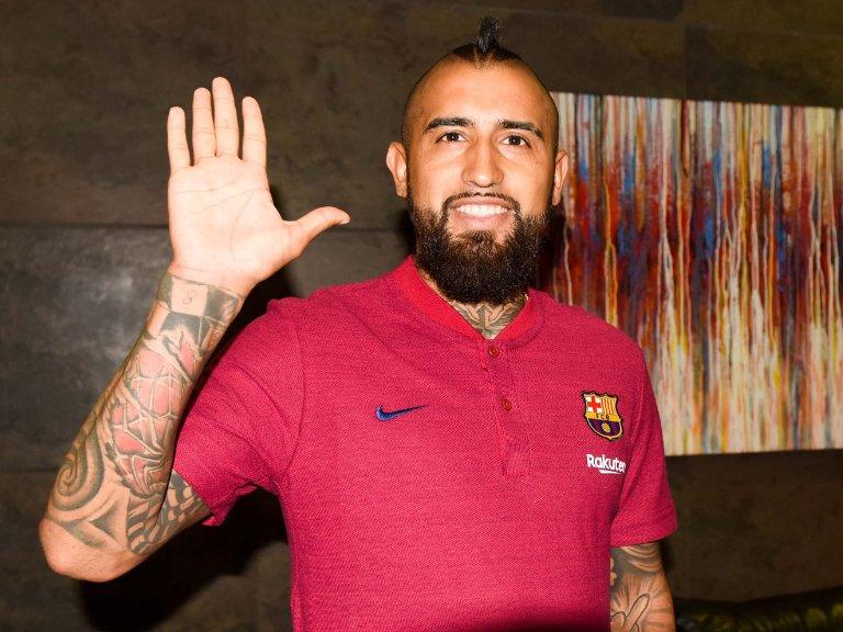 Maillot Domicile FC Barcelona Vidal