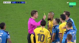 Vidal esce tra gli insulti. MovistarLigadeCampeones