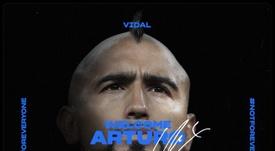 Officiel : Arturo Vidal signe à l'Inter Milan. afp
