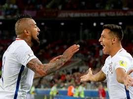 Vidal vs Alexis, qui est le meilleur joueur de l'histoire du Chili ? AFP