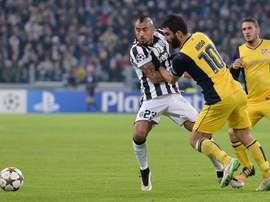 Chiellini disse que Arturo Vidal tinha problemas com o álcool na Juventus. EFE