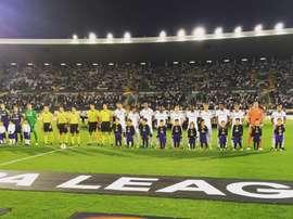 Início 'ameno' dos vimaranenses, na fase de grupos da Liga Europa. Facebook/VSC