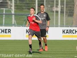 Ascacíbar, nuevo jugador del Stuttgart. VfB