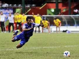 Ashad Ali Adubarey ejecuta la finta más extraña y efectiva de la historia en una tanda de penaltis. Youtube
