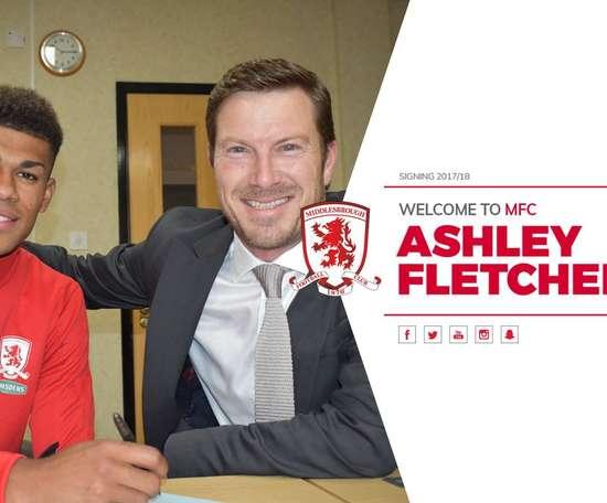 El delantero ha firmado por cuatro temporadas. MiddlesbroughFC