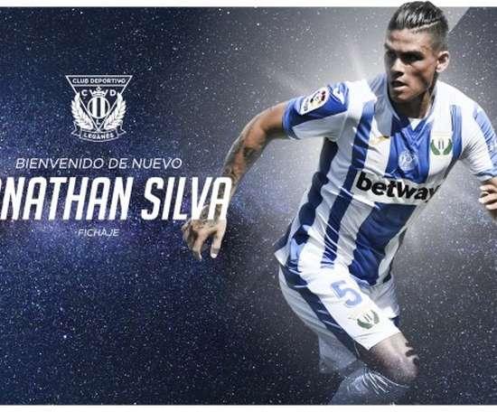 Jonathan Silva signe à Leganés jusqu'en 2023. CDLeganés