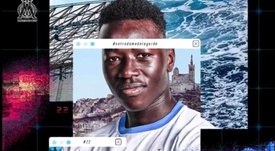 Pape Gueye has signed for Marseille. Twitter/OM_Officiel