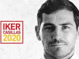 Casillas présente sa candidature à la présidence de la RFEF. Twitter/IkerCasillas
