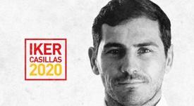 Casillas admite que se presentará a las elecciones de la RFEF. Twitter/IkerCasillas