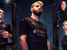City have released their new away kit. Twitter/ManCityES