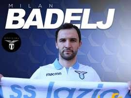La Lazio anunció a Correa y a Badelj. OfficialSSLazio