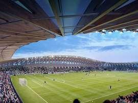 Así será el próximo estadio del Forest Green Rovers, construido principalmente con madera. ForestGreenRoversFC