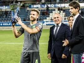 La Real fue mejor y se llevó el trofeo. RealSociedad