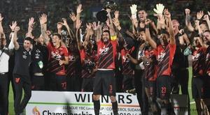 Athletico-PR vence o Shonan Bellmare e é campeão da J League-Conmebol. Twitter @AthleticoPR