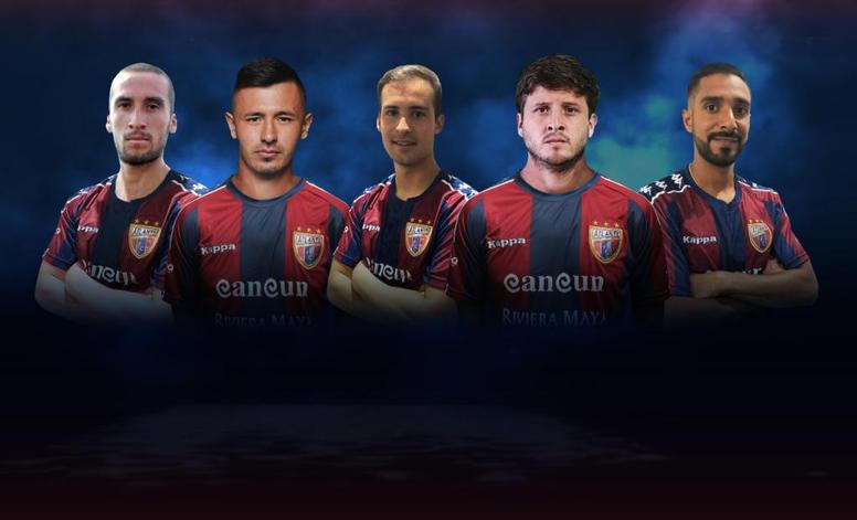 Atlante anunció a seis jugadores de golpe. Twitter/Atlante