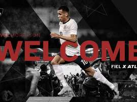 Morrison has joined Mexican club Atlas on loan from Lazio. Twitter/Atlasfc