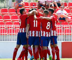 Atlético B y Celta B empataron a un tanto. AtléticodeMadrid