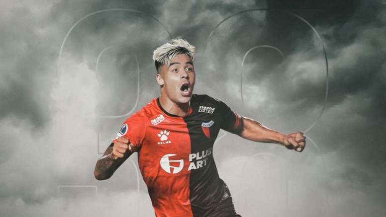 He signed for Colón. Twitter/oficial