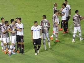 Paranaense y Fluminense inauguraron el campeonato alternativo al de la CFB. Twitter