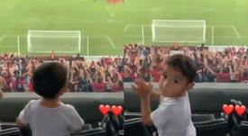 Atlético Paranaense ya tiene nuevo jefe de animación. Twitter/ESPN