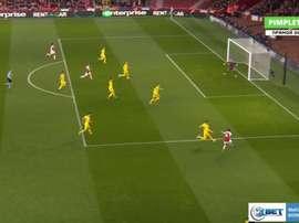 Arsenal et le Zénith ont commencé leur match en trombe. Capture/PIMPLETV.RU