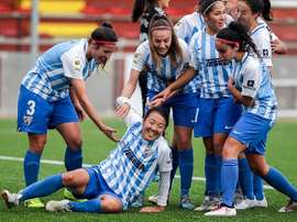 Ayano marcó el gol de la victoria. MálagaCF