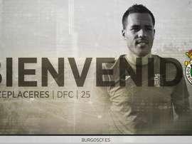 El jugador tinerfeño ha firmado por una temporada con el Burgos. BurgosFC
