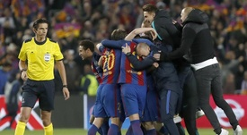 Ayketin was widely criticised for his decision making during the Barça-PSG game. EFE